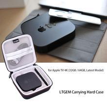 Étui de transport noir LTGEM EVA pour Apple TV 4 K (32 GB/64 GB, dernier modèle)