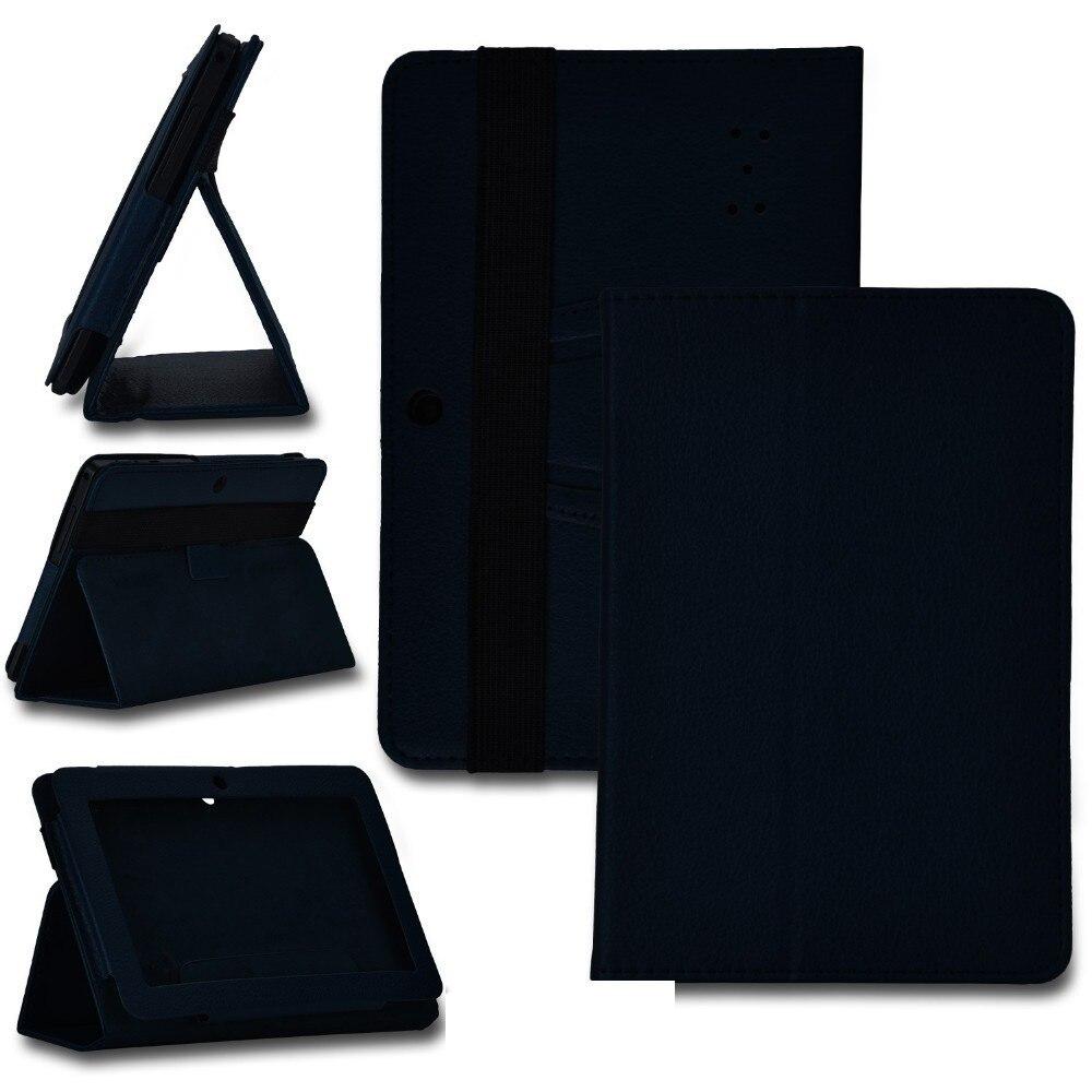 "¡Oferta! funda de 7 pulgadas Folio de cuero PU soporte de la cubierta para 7 ""irulu Q88 A13 A23 A33 Android Tablet PC MID"