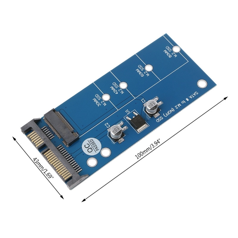 pci e to sata3 0 card third generation pcie sata3 expansion card ssd solid state drive system startup M2  SSD SATA3 SSDs To SATA Expansion Card Adapter SATA To  Converter Computer Cable Accessories