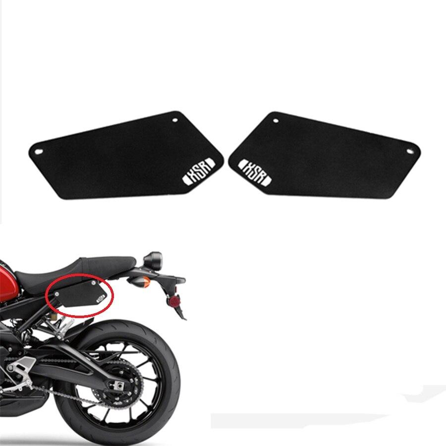 Placas de número da motocicleta 1 par painel lateral capa para yamaha xsr 900 2016 2017