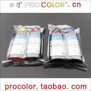 CISS Dye ink refill kit tool for hp 350XL 351 Photosmart C4485 C4500 C4580 C4583 C4585 C4599 C5200 C5240 C5250 C5270 C5273 C5275