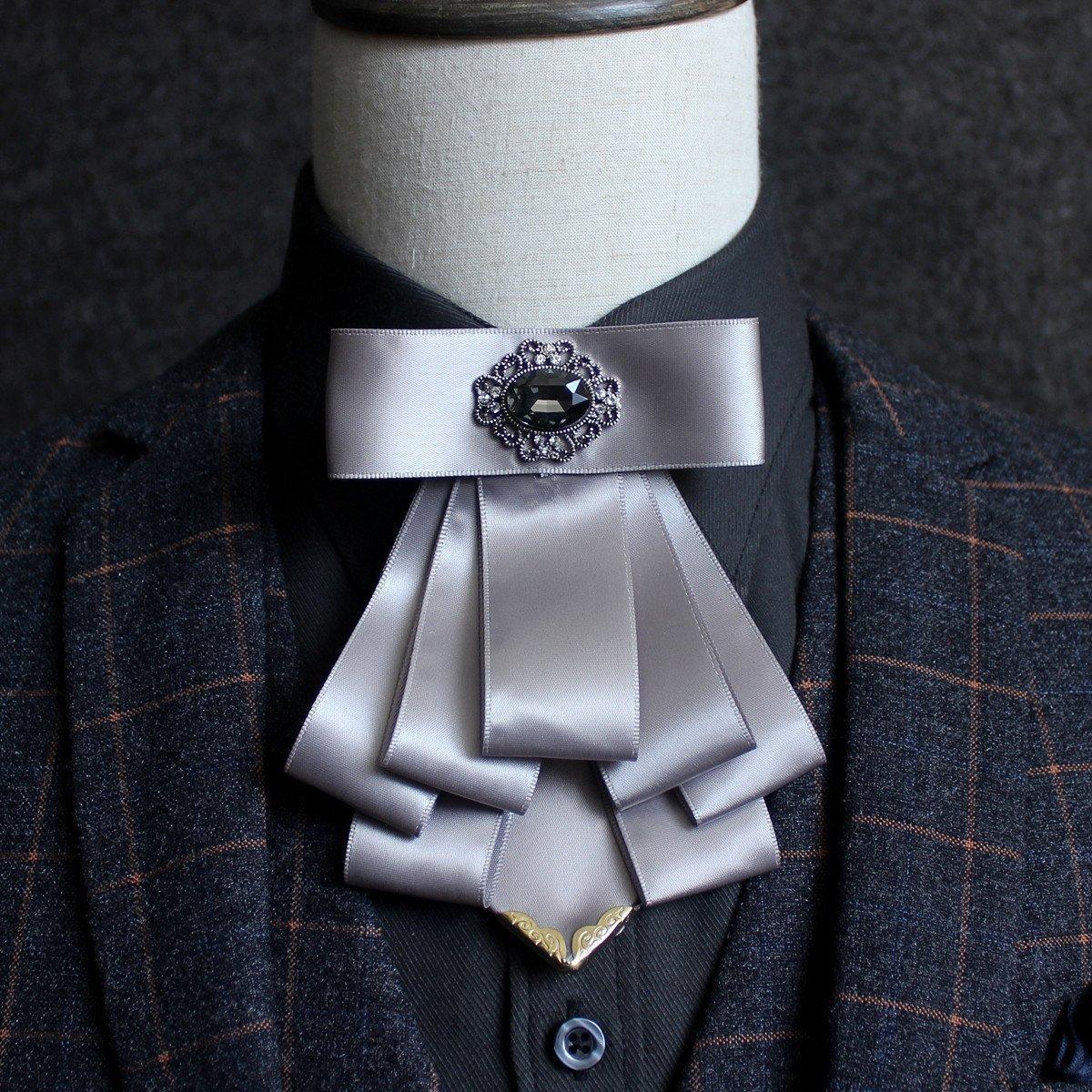 High quality mens handmade polyester bow tie England suit shirt groom groomsman host stylist