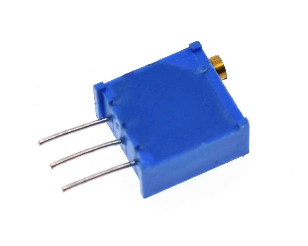 10 Uds 3296w Serie Resistanceohm Trimpot Potenciómetro De Ajuste 1k 2k 5k 10k 20k 50k 100k 200k 500k 1m 100r 200r 500r 3296w 103 Resistores Aliexpress