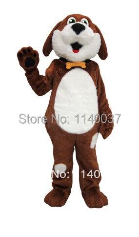 Disfraz de mascota Best Buddy perro blanco y marrón disfraz de mascota disfraz de personaje de dibujos para adultos mascota perro cachorro Carnaval