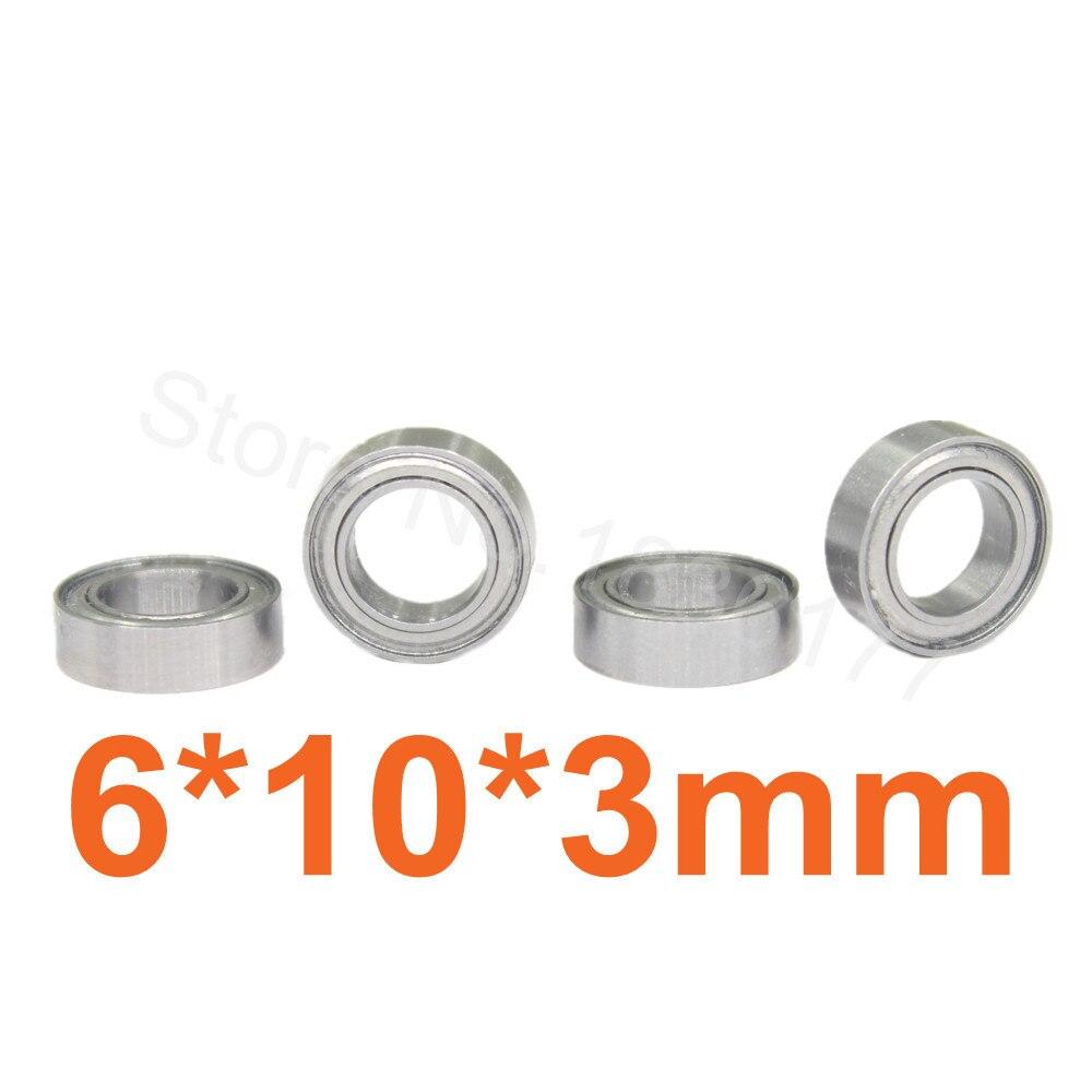 Himoto 1/18 piezas de mejora 10*6*3 rodamientos de bolas de 6*10*3 piezas de mejora para WLtoys HSP RC coches 580043
