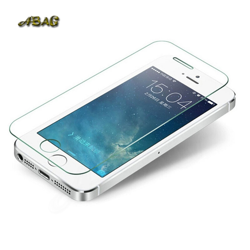 ABAG Tempered Glass Film for iPhone X 7 8 plus 9H Hard 2.5D Screen Protector for iPhone6 6s 6 plus 5