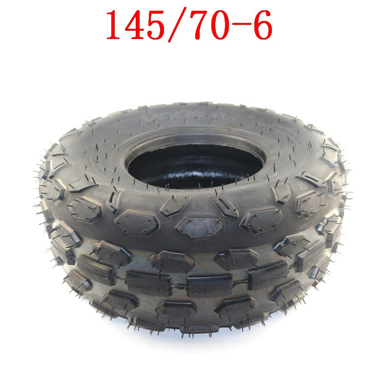 El mejor neumático ATV 145/70-6 para pequeño toro, neumático de rueda de 6 pulgadas, 50cc, 70cc, 110cc, aplicable a todo tipo de