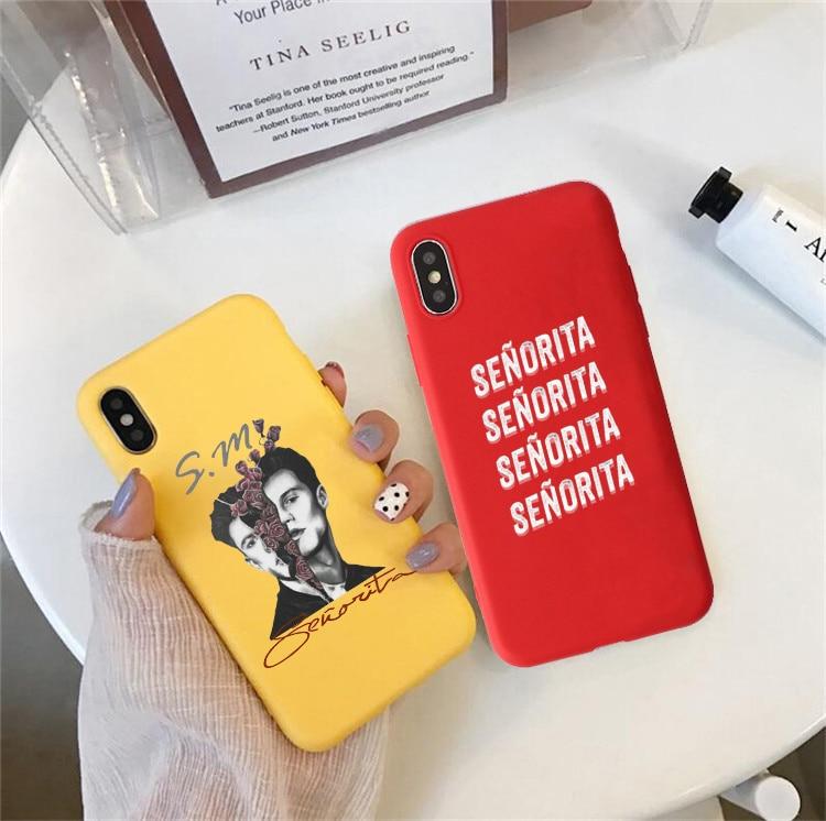 Shawn Mendes Camila Cabello Senorita Colored soft phone case for huawei p20 pro p10 lite p30 lite mate 10 20 honor 8x 9 10