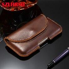 Pour Huawei P30 Lite cuir véritable pour Huawei P30 Pro P30lite téléphone sacs étuis Flip couverture mince poche point manchon profiter 9 Plus
