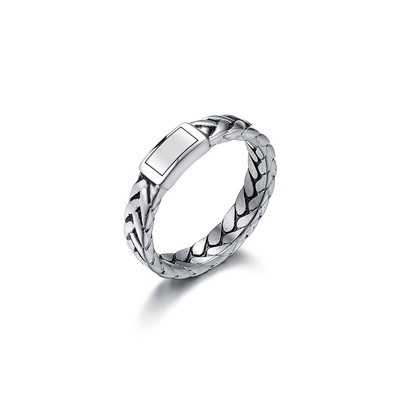 Винтажное кольцо из нержавеющей стали с цепочкой в виде Будды и Юлиуса, повседневные ювелирные изделия для женщин и мужчин, подарок VR167