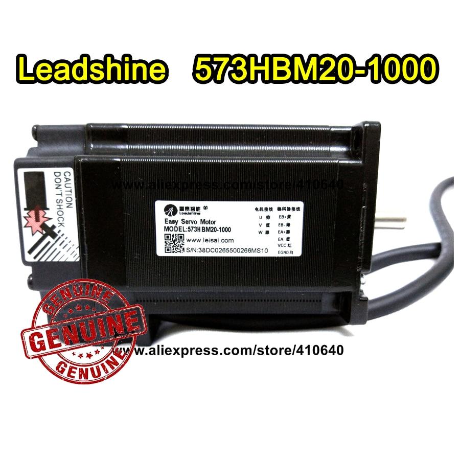 Leadshine Hybrid Servo Motor 573S20 equal to 573HBM20 1.8 degree 2 Phase  with encoder 1000 line and 1.0 N.m torque