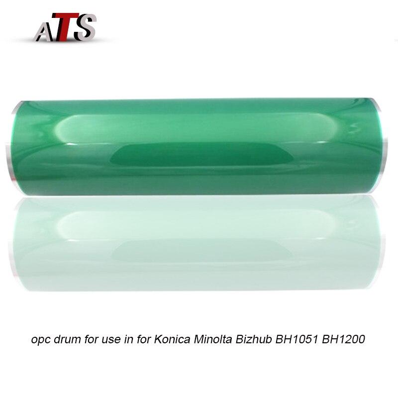 Фотобарабан для Konica Minolta BH1051 BH1200, пустая трубка Bizhub 1051 1200, запасные части для копировального аппарата, принадлежности