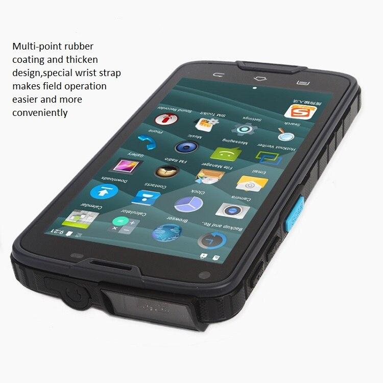 Tablet PDA Android Industrial con pantalla táctil de 5 pulgadas con lector de código de barras 2D integrado, NFC, Bluetooth, WIFI, GPS, 4G LS5S (2D)