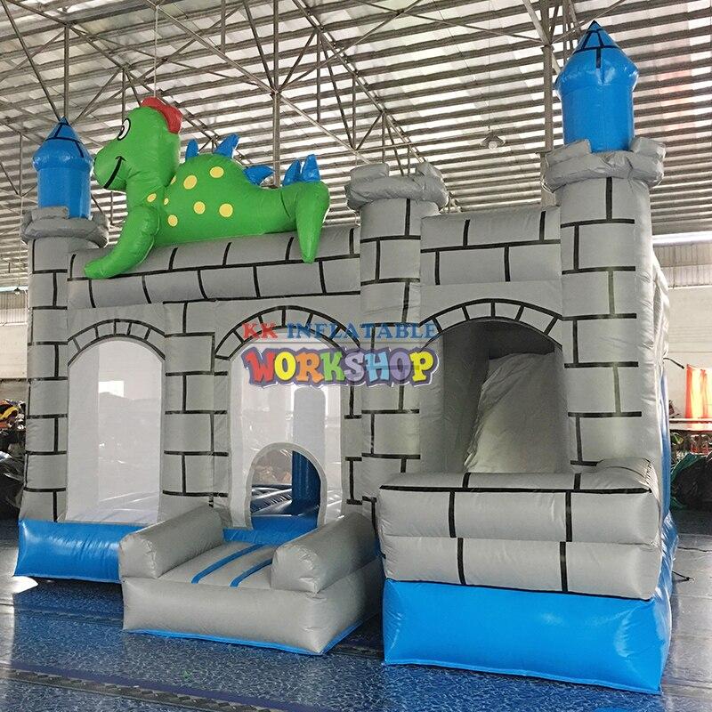 Obstáculo inflable para niños comerciales, fiesta, evento de alquiler, negocio, castillo hinchable, Castillo Tobogán, combo