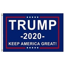 2020 Flag For Trump Double Sided Printed Donald Trump Flag Keep America Great Donald For President U