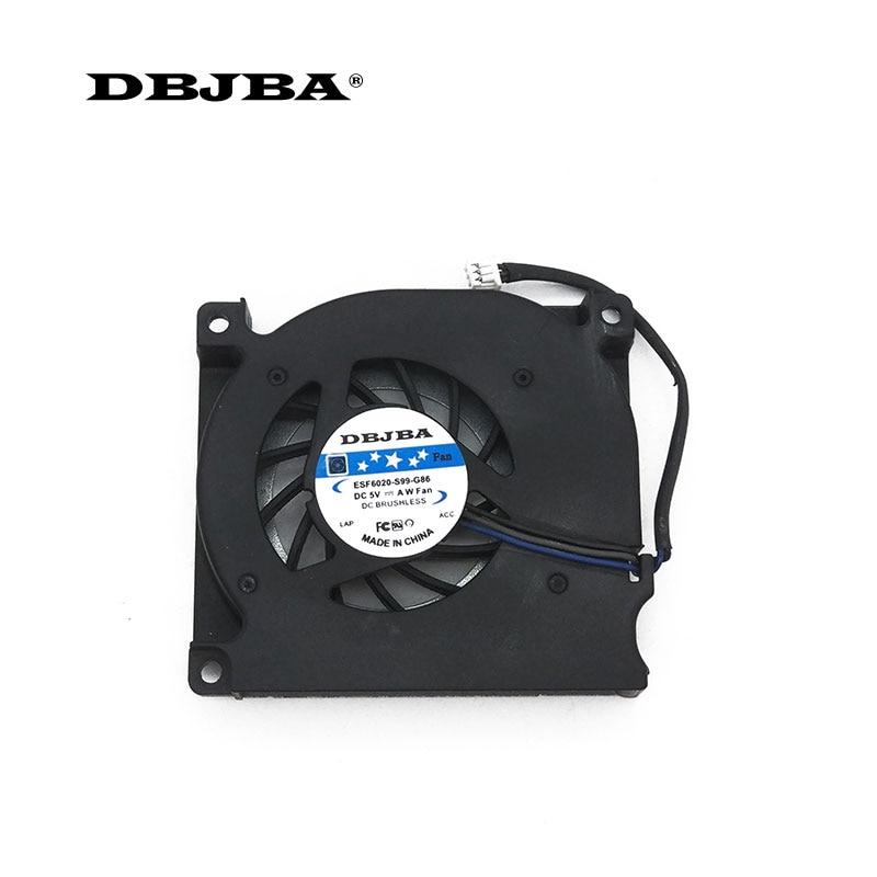 Ventilador de refrigeración de CPU para DELL Latitude D400 D410 UDQFWZH15CAR MCF-904AM05 ventilador de ordenador portátil