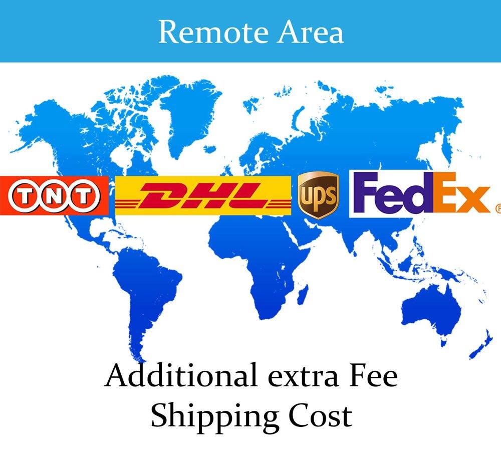 Taxa extra para o saldo do seu pedido/custo de envio