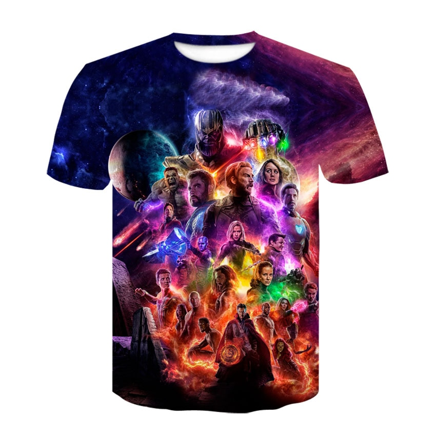 Camisetas estampadas en 3D de capitán americano para hombres vengadores 4 Endgame, camiseta de compresión Quantum War, camisetas de disfraces para hombres