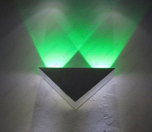 2W 2 LED high power wall mounted Light Decorative fixture bulb Lamp for Store Living Room bedroom  Hall Gallery Vestibule
