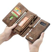 Bolso de mano para teléfono funda para Samsung Galaxy S20 plus Ultra S10 5G Plus S10e coque Funda de cuero de lujo Fundas accesorios bolsa