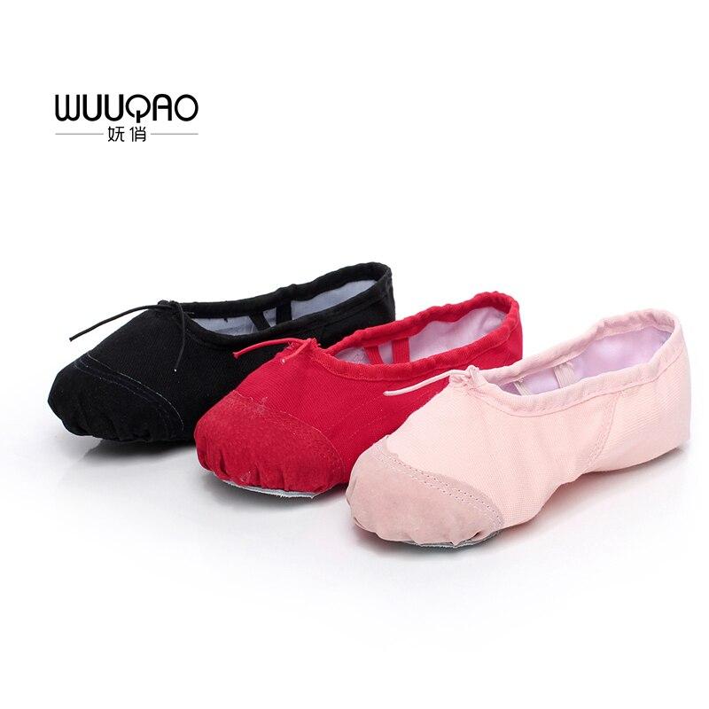 Балетные туфли для детей и взрослых, женские профессиональные Балетные туфли, балетные туфли с мягкой подошвой для дам, акция балетные туфли entrepreneur samokhi балетки тканевые