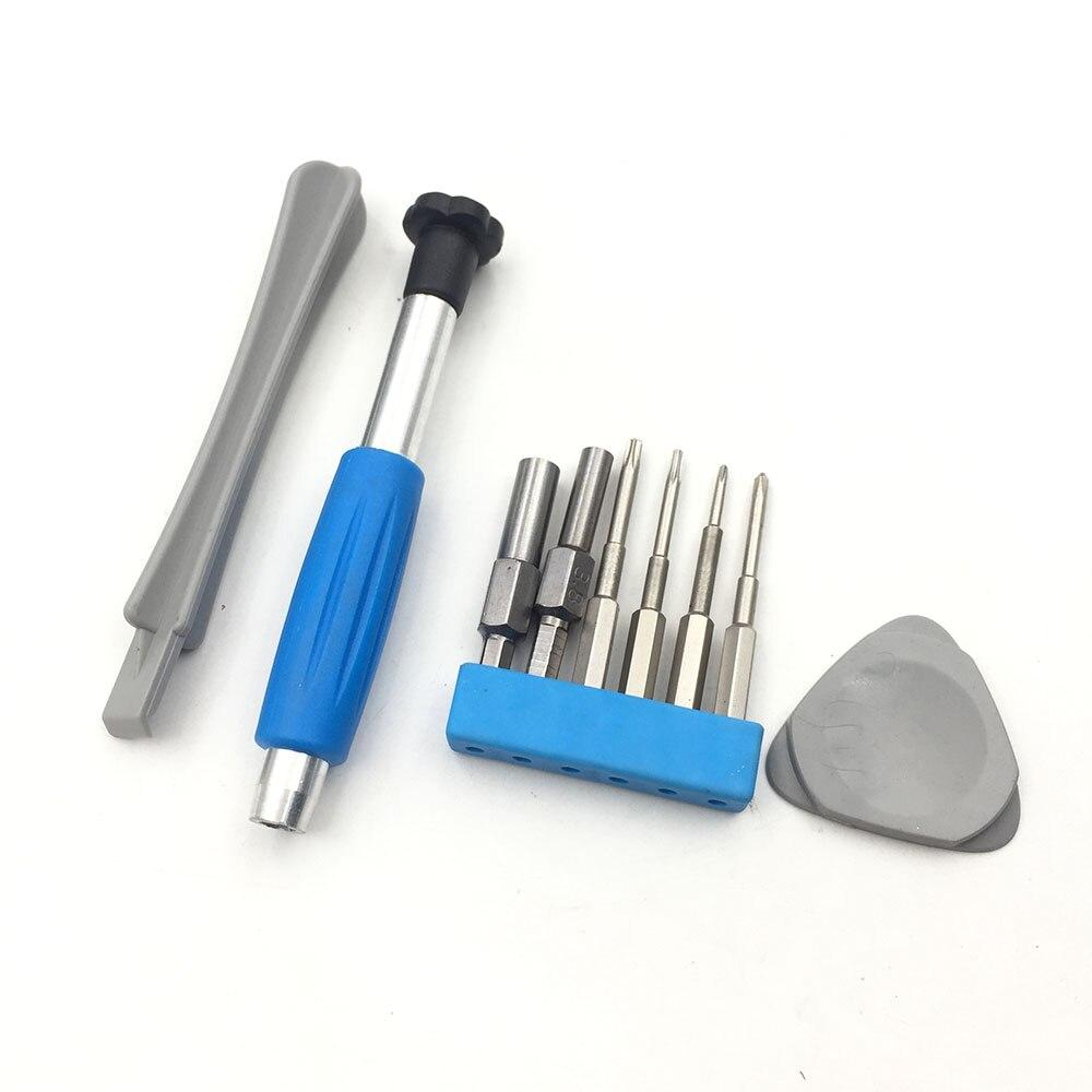 Juego de destornilladores herramientas de reparación Kit para Nintendo interruptor nuevo 3DS Wii U NES SNES DS Lite GBA Gamecube