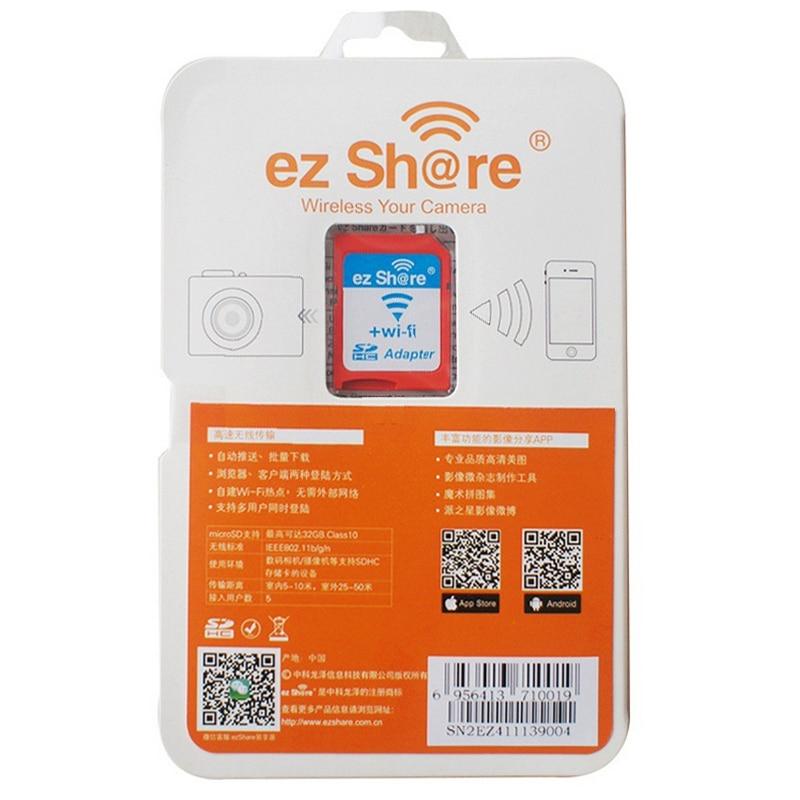 Venta al por mayor Gran oferta WiFi TF Micro SD a SD adaptador de la Cámara de la tarjeta de memoria soporte 8GB 16GB 32GB tarjeta Micro SD TF lector