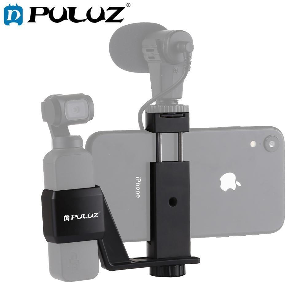 PULUZ-soporte de teléfono de Metal, soporte de expansión para DJI OSMO, bolso,...