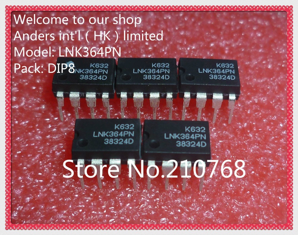10 pçs/lote LNK364PN LNK364P LNK364 DIP7