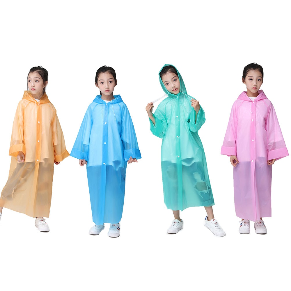 Impermeable, accesorios para capó de lluvia, impermeable de emergencia para adultos, manto de PEVA, equipo de lluvia para adultos