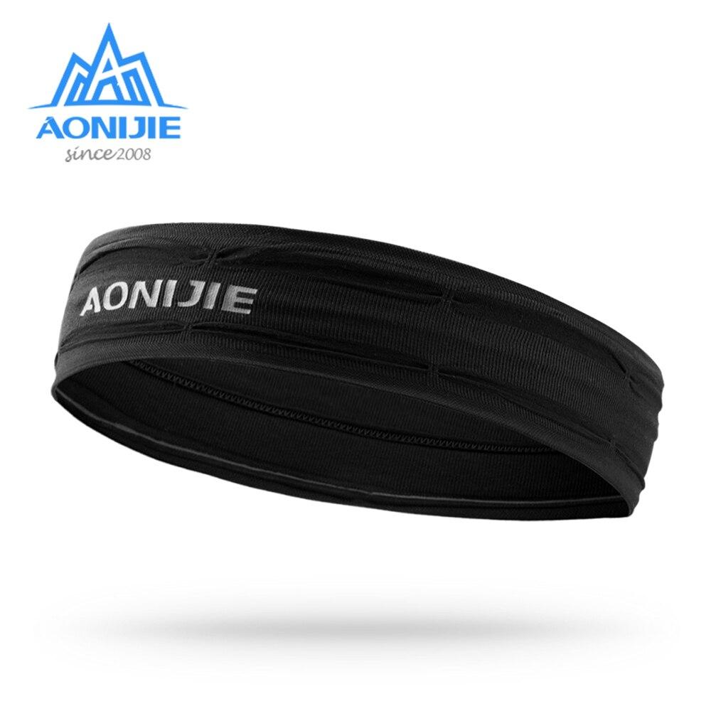 Повязка для тренировок AONIJIE E4086, нескользящая повязка на запястье, мягкая эластичная бандана для бега, йоги, тренажерного зала, фитнеса