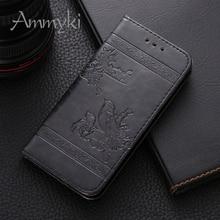 AMMYKI Fine design design, high quality flip leather Mobile phone back cover 4.5'For LG Optimus F70 D315 case