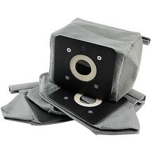 4 pièces aspirateur pratique filtre Hepa sac à poussière pour Philips Electrolux Haier LG aspirateur Non tissé sacs 11x10cm
