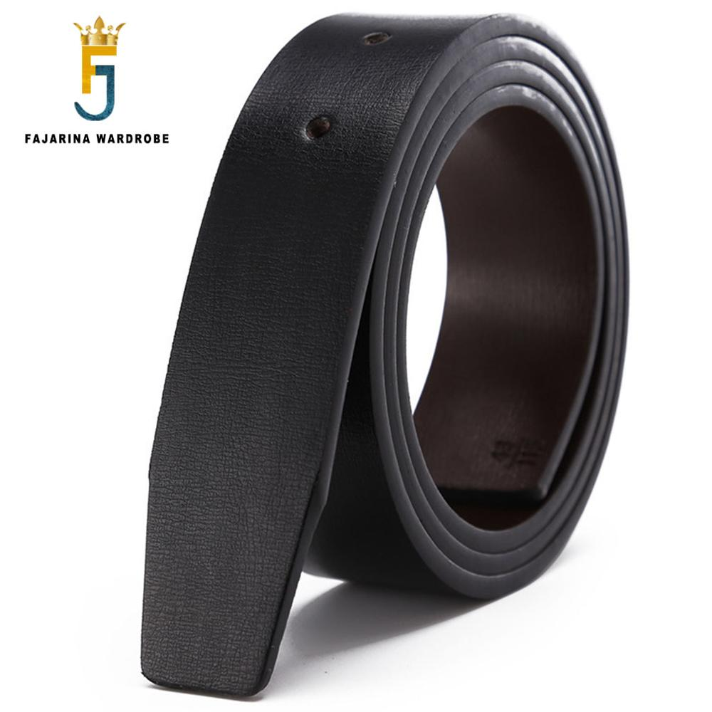 second layer пиджак FAJARINA Double Sided Second Layer Quality Genuine Leather for Smooth Slide 3.3cm Belts Men Cowhide PU without Buckle LUBT16
