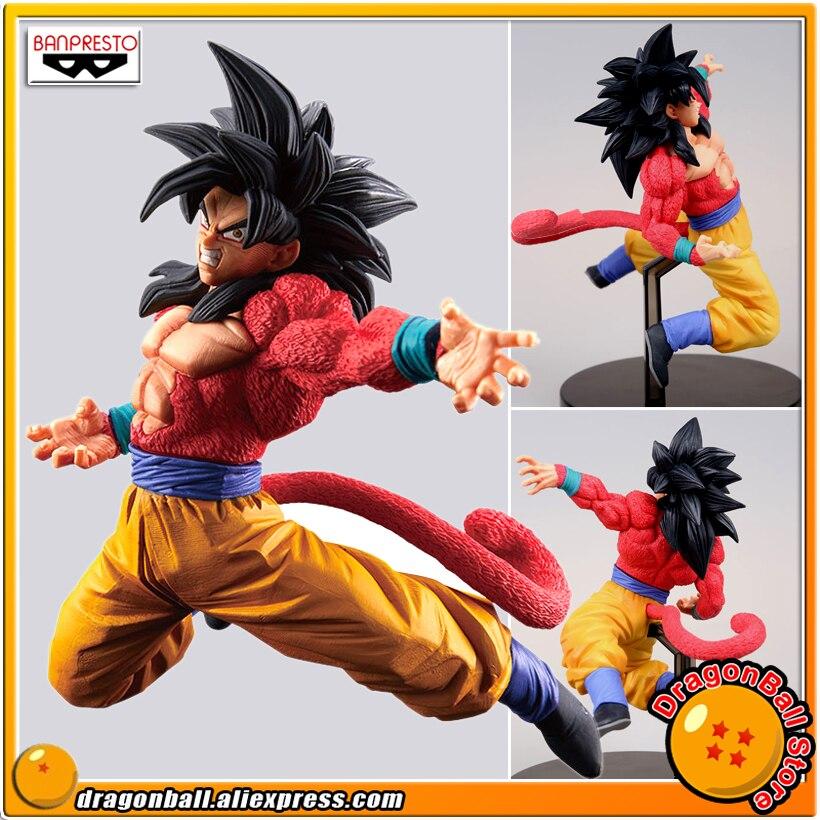 "¡Japón Anime ""Dragon Ball Super"" Original Banpresto Son Goku FES! ¡Especial ver! B figura de colección-Super Saiyan 4 hijo de Goku."