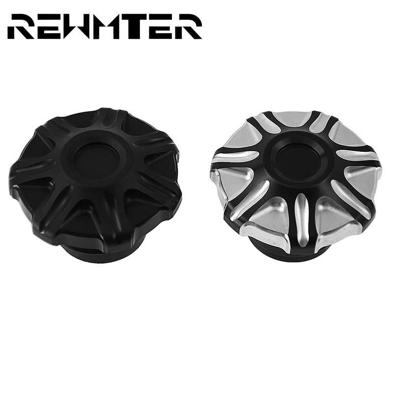 REWMTER-Tapa de combustible con ventilación Para motocicleta Harley Sportster XL 883 1200...