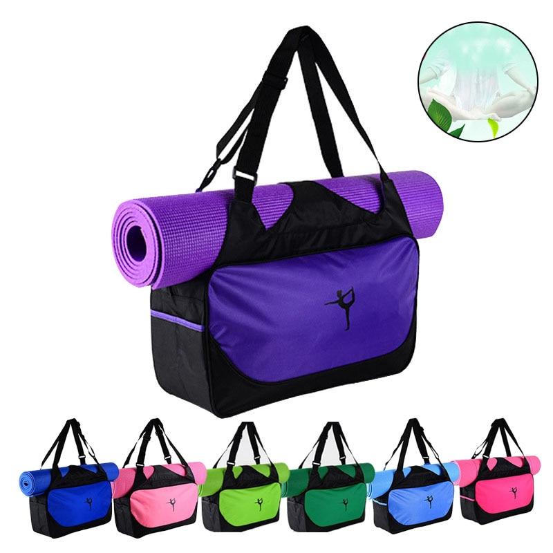 Bolsas de Yoga multifunción, bolsas de esterilla para gimnasio, esterilla de Pilates a prueba de agua, estuche de transporte ZJ55