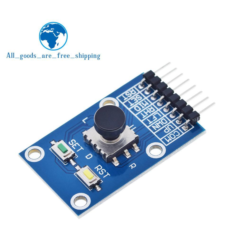 Модуль кнопки навигации TZT с пятью направлениями для MCU AVR игровой 5D Джойстик-рокер Независимая клавиатура для Arduino модуль джойстика