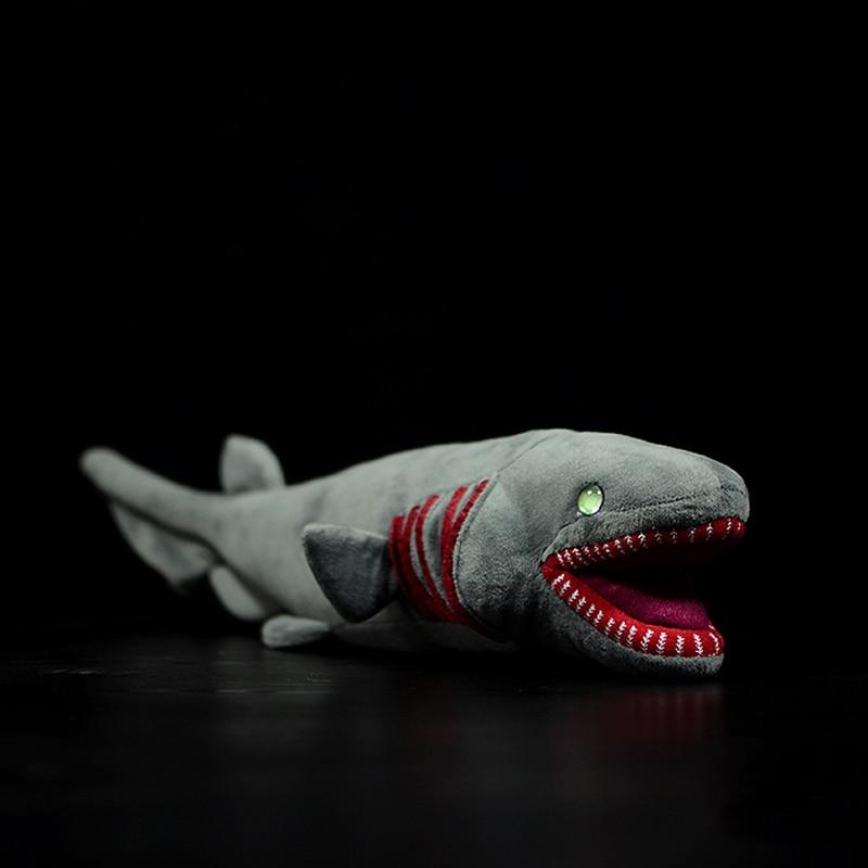52cm Long Lifelike Frilled Shark Stuffed Toys Super Soft Realistic Sea Animals Sharks Plush Toy For Kids