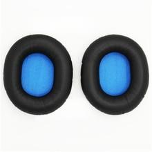 Headphone Replacement Earpads Ear Pads Cushions For Sennheiser HD8 HD8 DJ HD6 Mix Headphones Sponge Set Headset Ew#