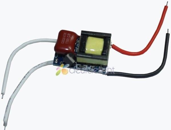 5 uds 3W 3X1W controlador regulable 50/60Hz AC110V a DC12V 300mA para LED Spotlight Blub brillo ajustar envío gratis