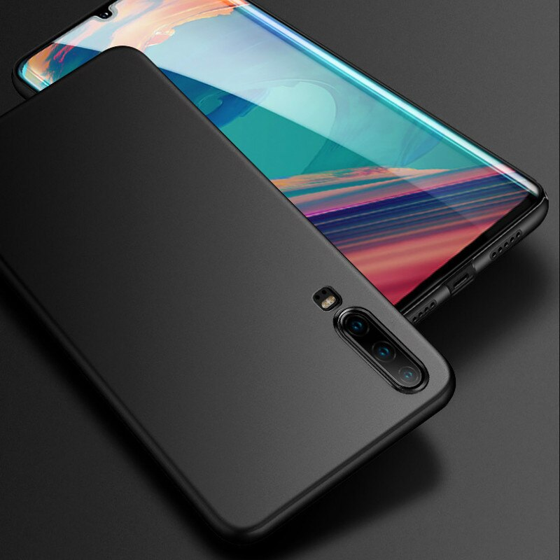 Caso duro de la PC para Huawei Honor 20 Pro 20S 10i 20i 8X 8C Nova 5T cubierta mate para Huawei P Smart 2019 P30 P20 Mate20 Lite las cocas