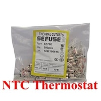 10pcslot sf169e sf169y thermal fuse 10a15a 250v ry 172c thermal cutoffs tf172c degree temperature fuses new