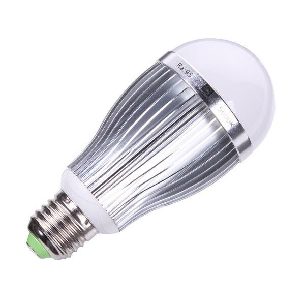 Nanguang CN-10 5600K 10W blanco bombillas LED para lámpara E27 fotografía luz de estudio fotográfico iluminación 2 unids/lote envío gratis