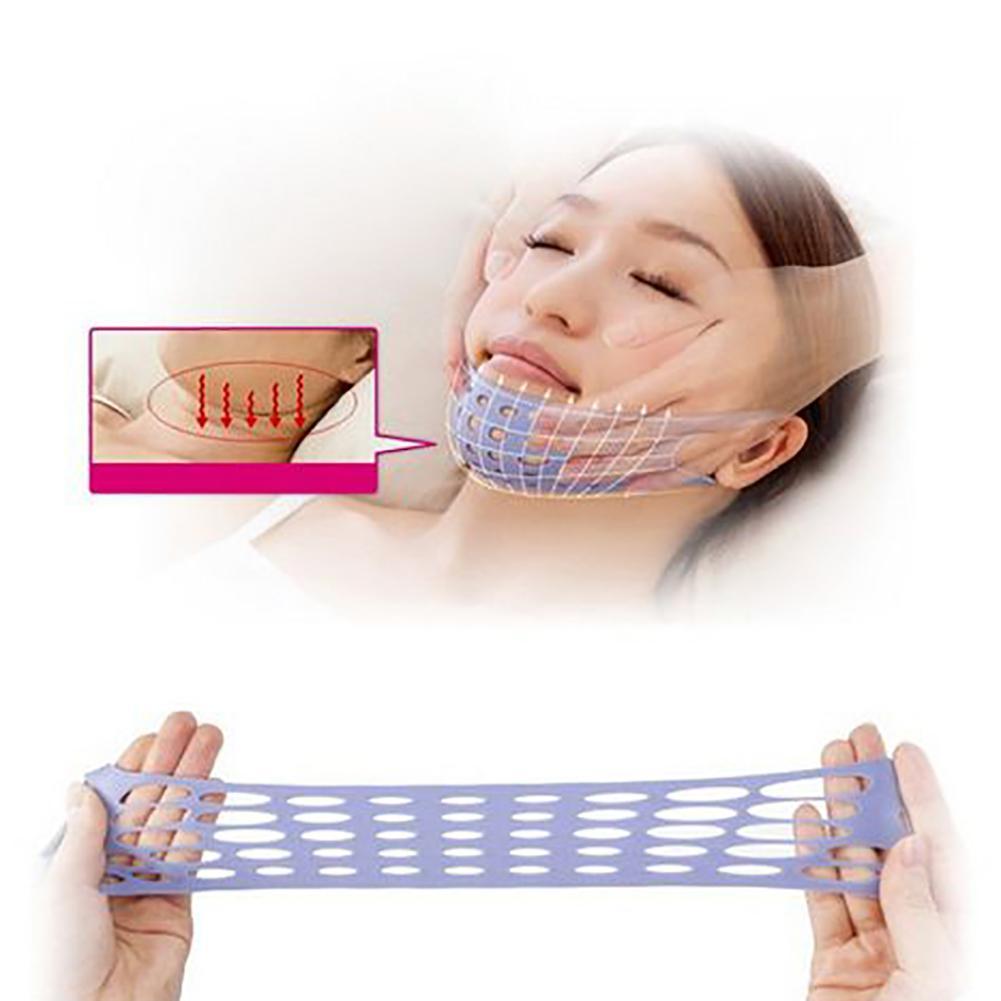 Anti Wrinkle V Face Shaper Slimming Mask Belt Chin Cheek Lift Up Bandage Strap New jade roller face roller mesoscooter for face