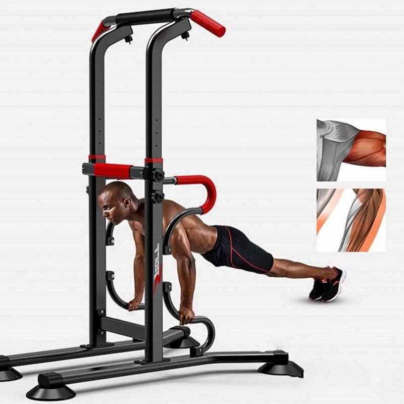 Novo Multi-função Push-up Push-ups Stands Engrossar Estrutura de Aço Barra de Puxar Para Cima e Dip Suporte de Fitness Ao Ar Livre Indoor equipamentos de Ginástica