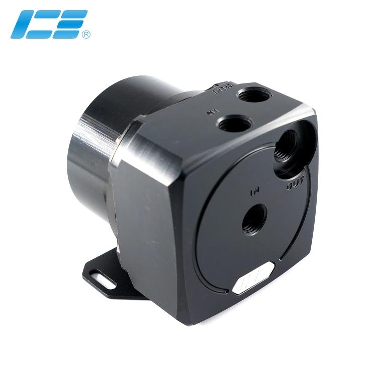 Icقاعات Cooler شفاف أسود D5 تعديل غطاء المضخة ل وحدة معالجة خارجية للحاسوب برودة مجددة D5 مضخة درع البائع عالية يوصي