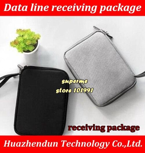 Bolsa de almacenamiento Digital, paquete de tarjeta SD, paquete de datos, paquete de disco duro móvil, paquete de alimentación para auriculares, bolsa de alimentación 2,5 HDD, estuche rígido