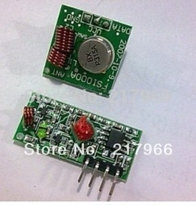 Free shiping !!& Best prices 2 pair (4pcs)433Mhz RF transmitter and receiver link kit for /ARM/MCU WL
