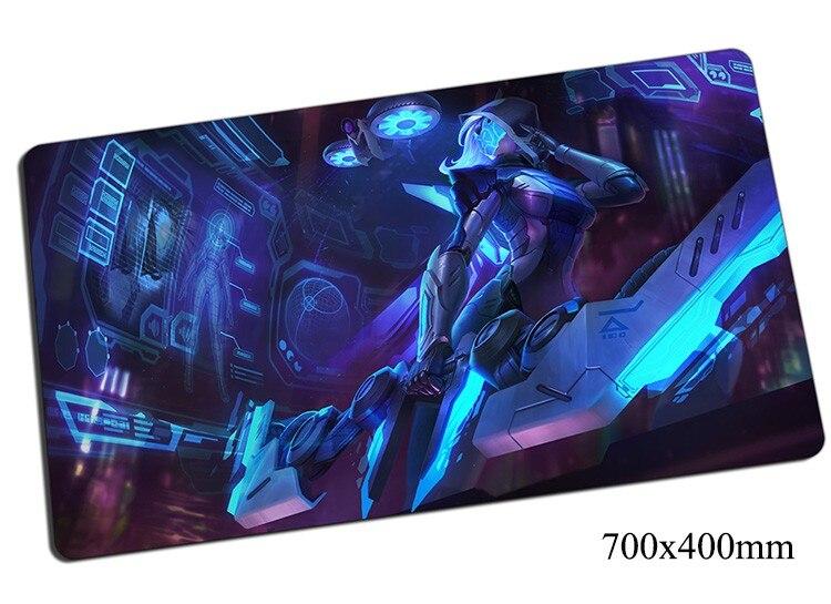 Alfombrilla de ratón Ashe 700x400x2mm para juegos, alfombrilla de ratón gear lol alfombrilla de ratón de gamer, alfombrilla de juego para ordenador, alfombrillas de juego para fotos de arquero